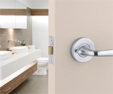 bathroom door lock changed by local locksmith kew east