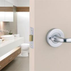 new bathroom lock fitted by locksmith mulgrave