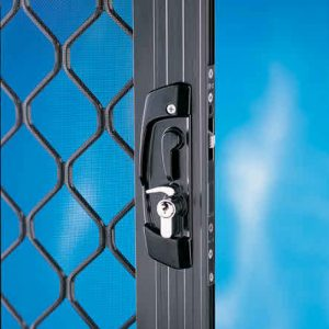 replaced front security door lock by locksmith vermont south