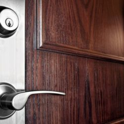 new front door lock by local locksmith smiths gully